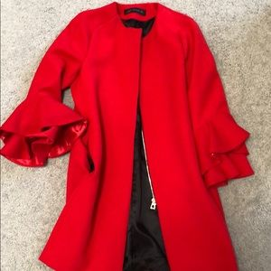 Zara | Red Coat